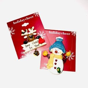 ⛄️ Christmas Brooches